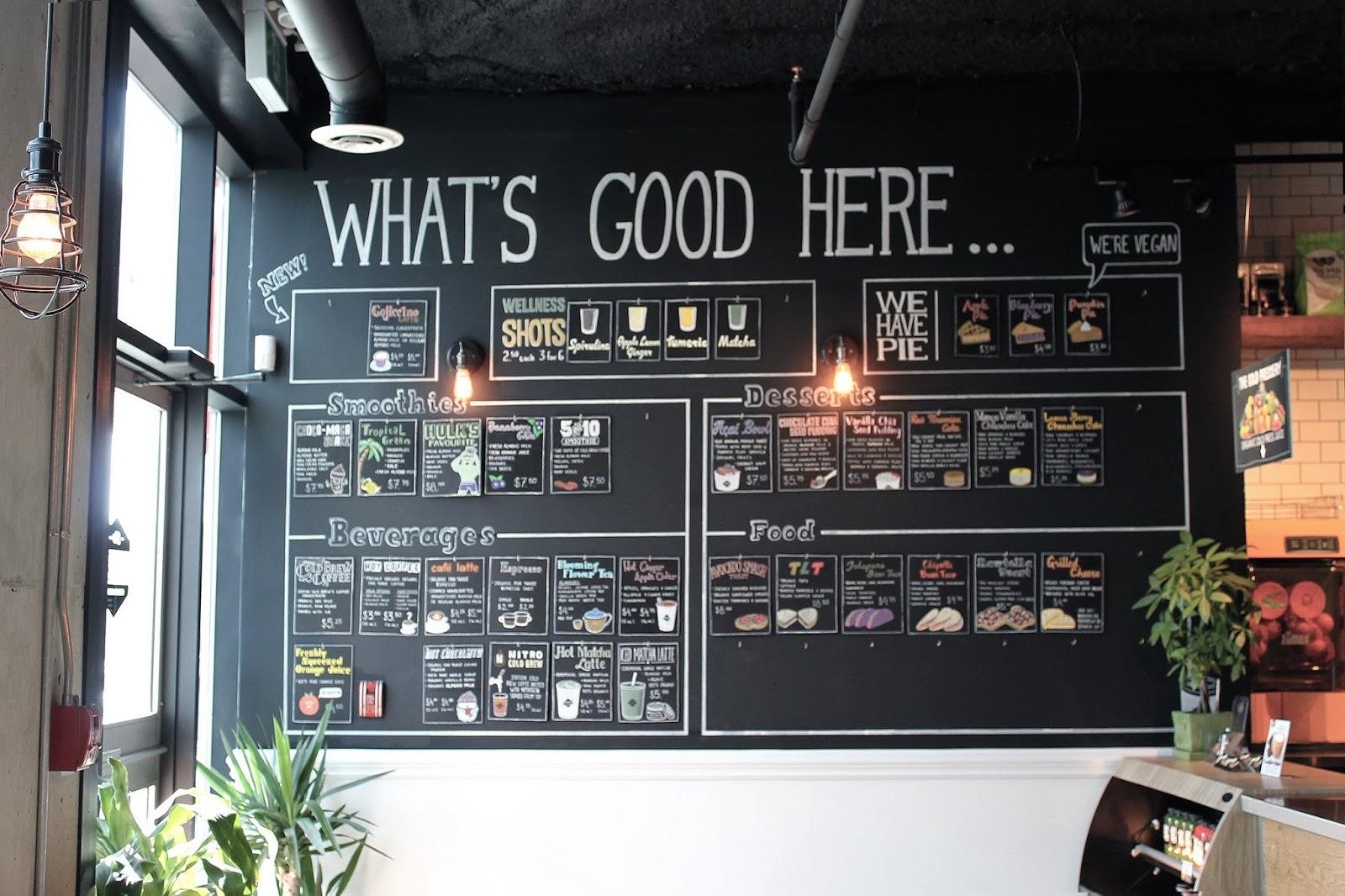 The Cold Pressery Selftimers vegan misssissauga cafe organic juice bar
