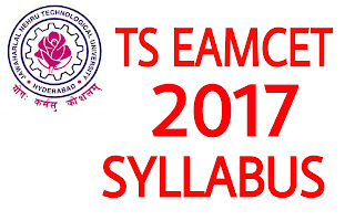 ts eamcet 2017 syllabus exam pattern