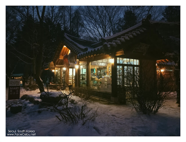 Such a nice Restaurant in Nami island