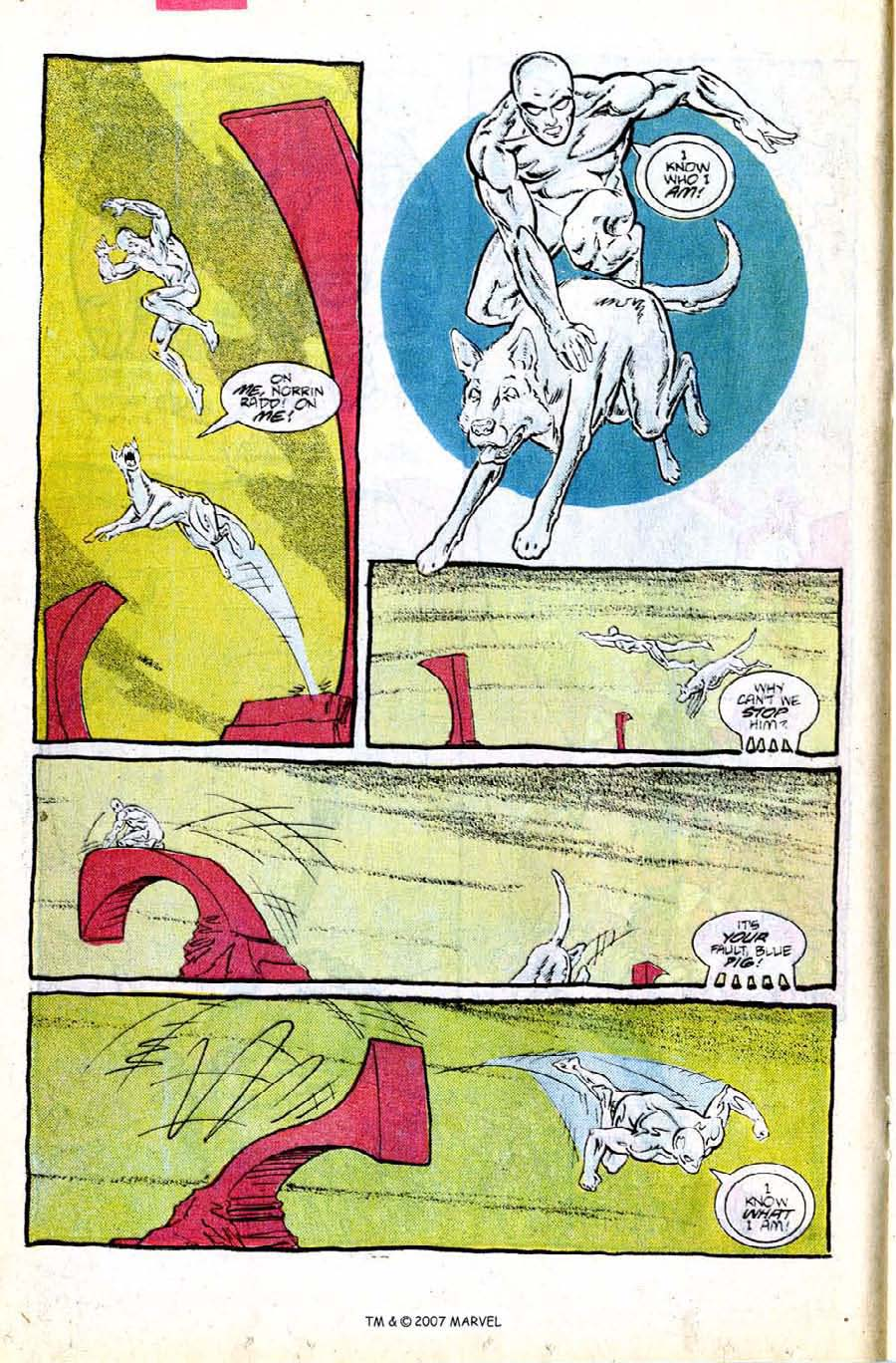 Read online Silver Surfer (1987) comic -  Issue #8 - 16