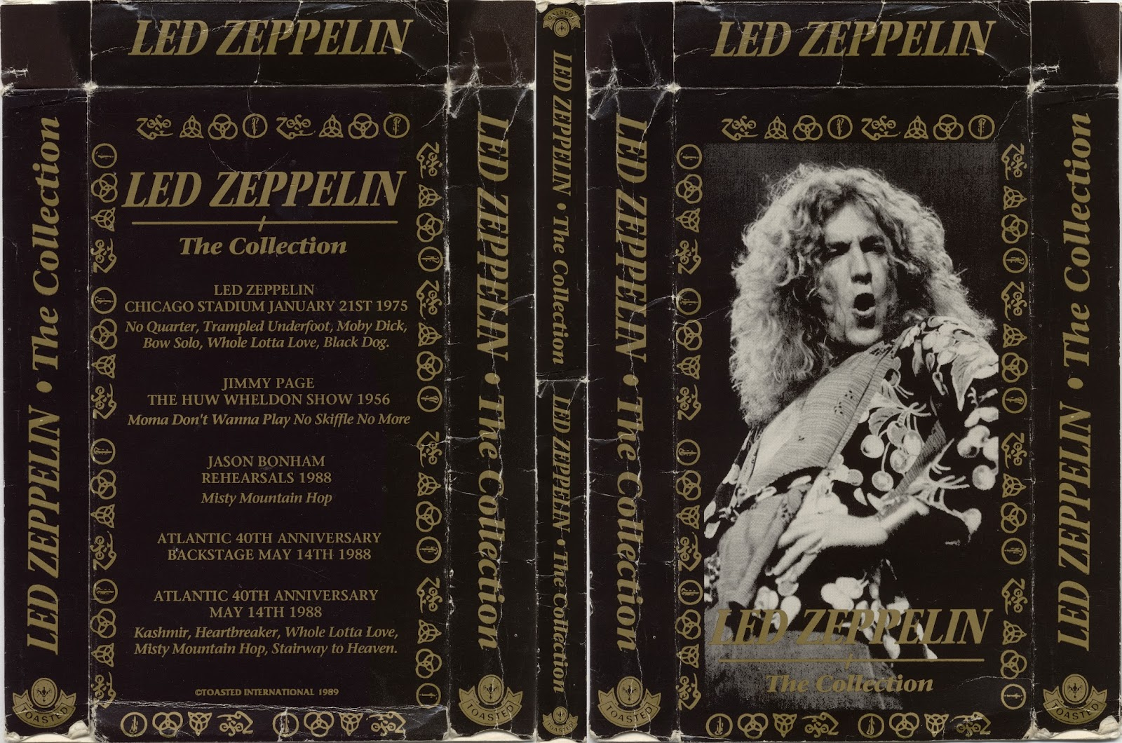 Long Live Led Zeppelin: Led Zeppelin The Collection Toasted Video