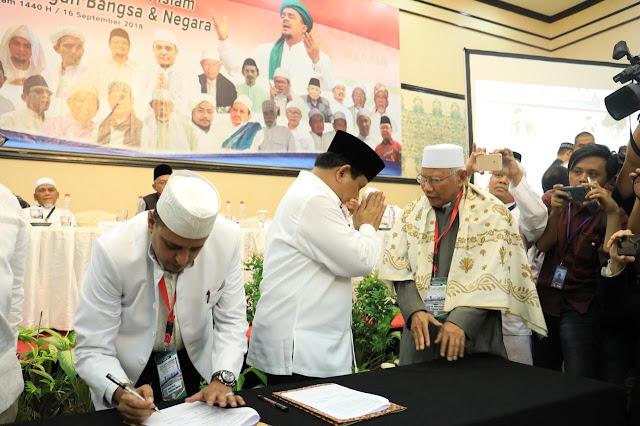 Prabowo Ajak Ulama dan Masyarakat Kawal TPS