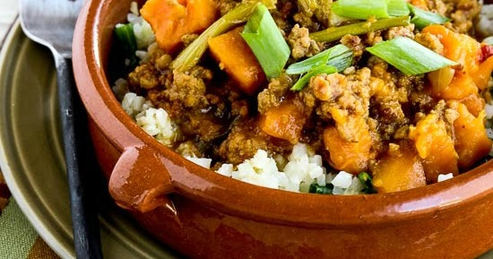 Kalyn's Kitchen®: CrockPot Sweet and Spicy Ground Turkey ...