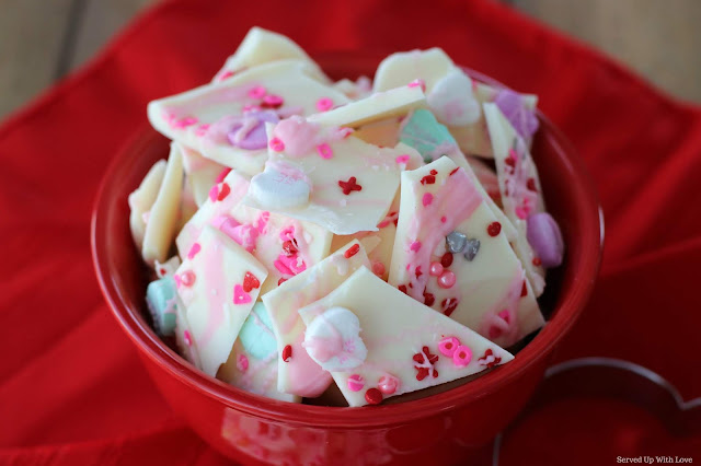 Sweetheart's Bark recipe from Served Up With Love