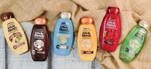Garnier Whole Blends introduces a recipe for naturally beautiful hair!