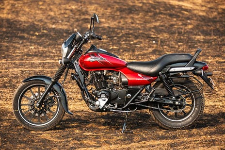 New 2018 Bajaj Avenger Street 180 Red side look Pics