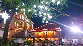 Las Pinas Bamboo Organ Church Patio on Christmas Season - Schadow1 Expeditions