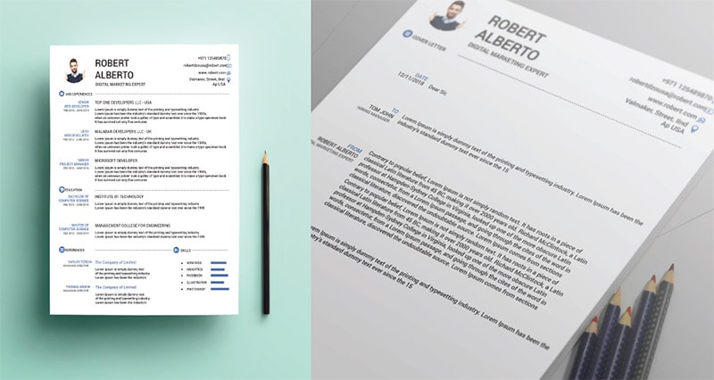 Template Resume CV 2018 - FREE RESUME CV Cover Letter Templates