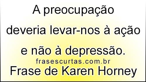 Frase de Karen Horney
