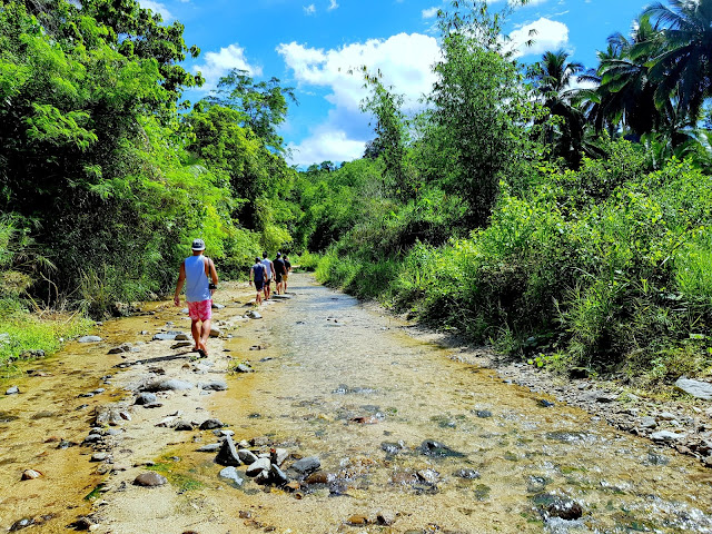 River crossing going to Aleman Falls Don't lose hope, Aleman falls should be on your list if you're in Dipaculao
