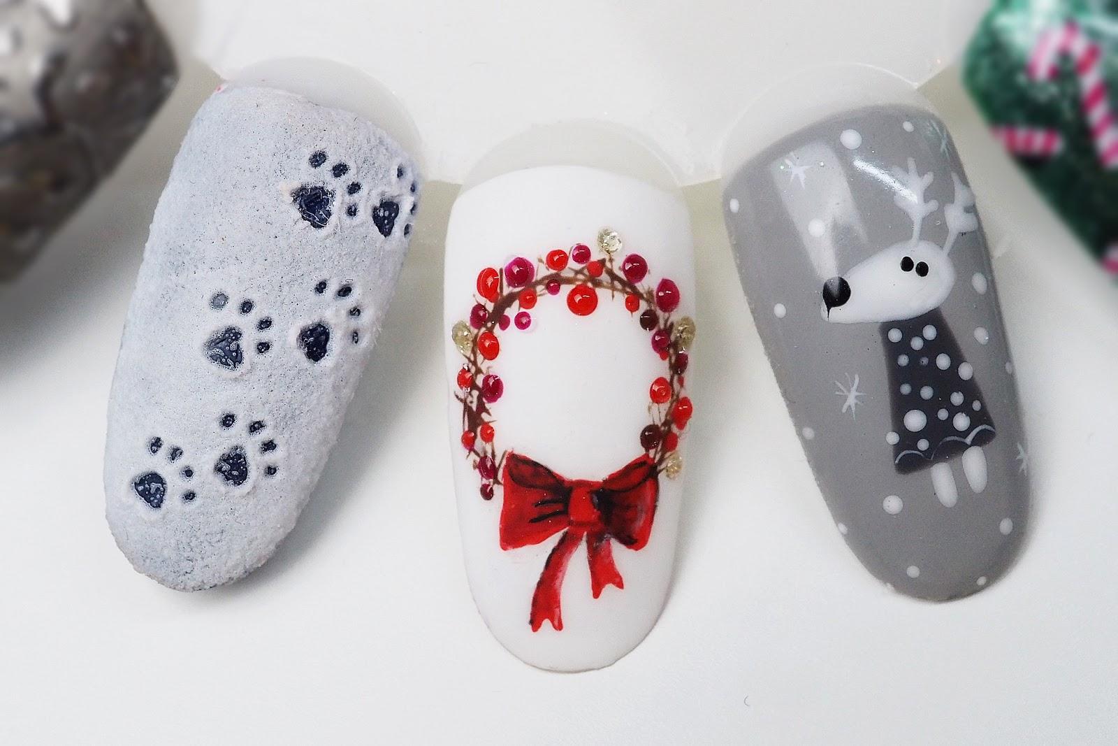 manicure wzorki