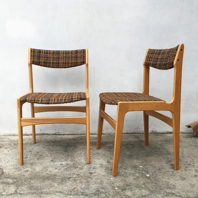 design nórdico, vintage, cadeiras