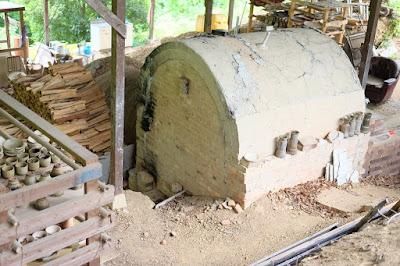 生坂村 白日窯の登り窯