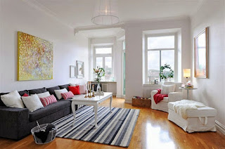 penataan ruang tamu minimalis sederhana