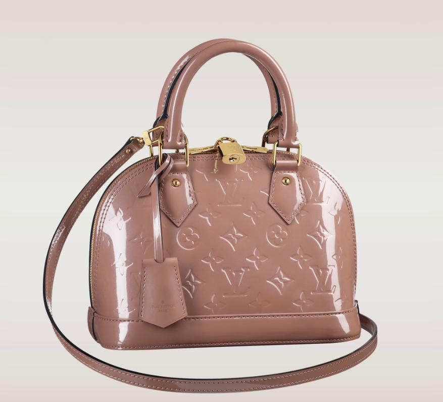 a128d6813b0b Louis Vuitton Alma BB Vernis New Colours. LVoe