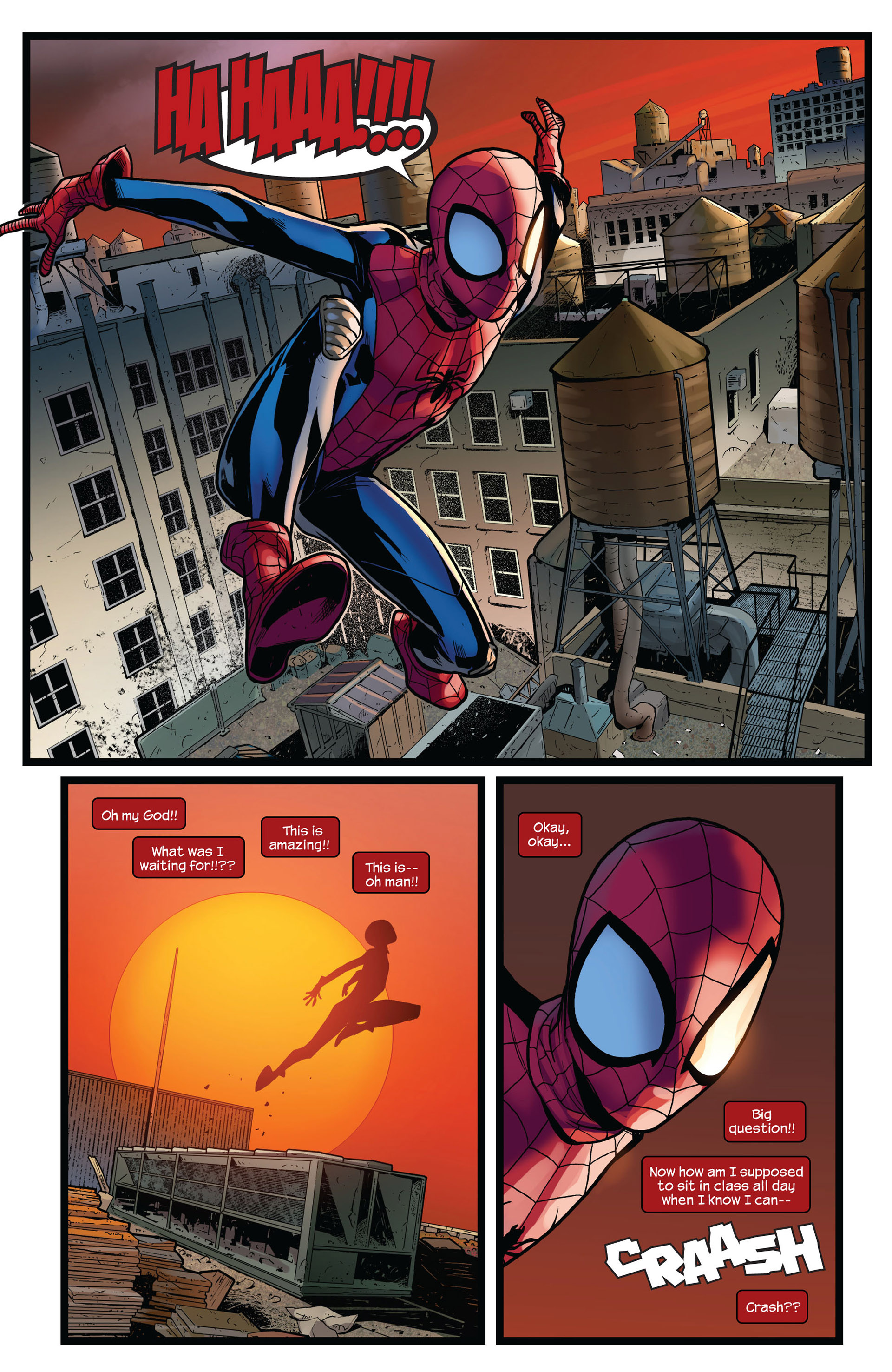 Read online Ultimate Comics Spider-Man (2011) comic -  Issue #4 - 17