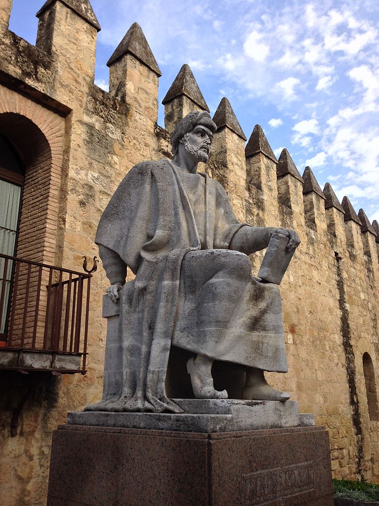 Averroës statue in Cordoba, Spain