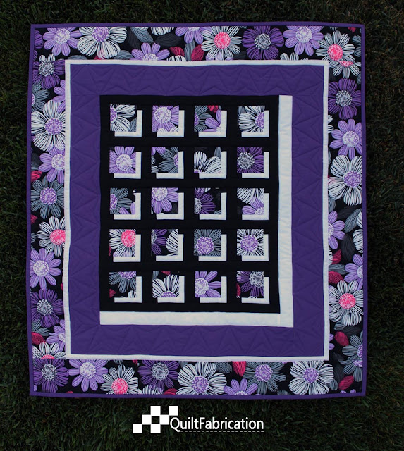 Shadow Block Mini quilt