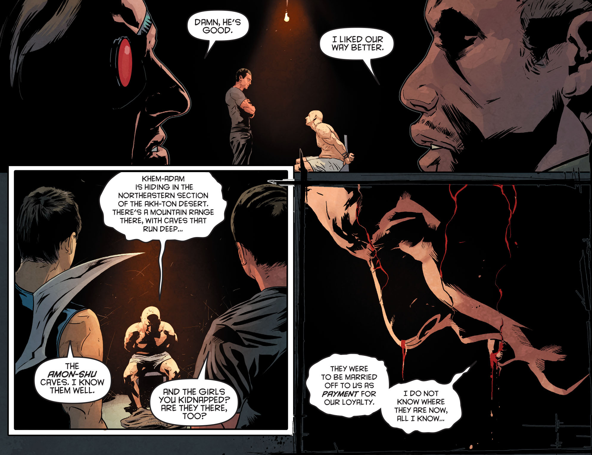 Read online Arrow: Season 2.5 [I] comic -  Issue #12 - 8