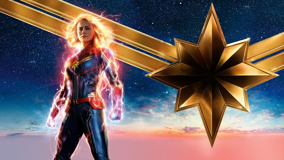 Captain Marvel Movie Brie Larson 8k Wallpaper 15