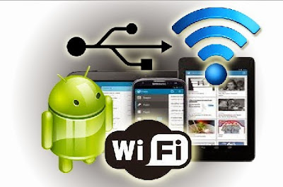 Membuat HP Android Menjadi Modem WiFi