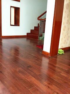 Sàn gỗ cao su - căn hộ đồng nai
