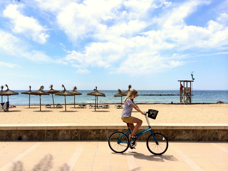 Hire bikes in palma
