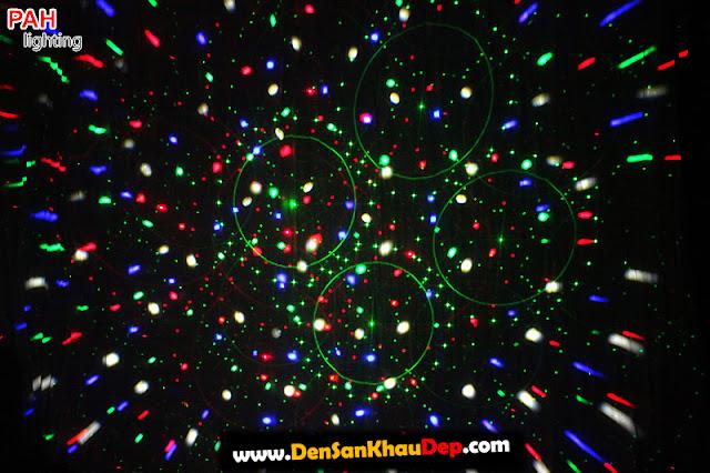 Hiệu ứng đèn laser led LELA cảnh 4