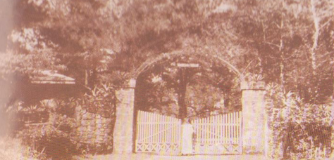 Old gate of Good Shepherd Convent in Baguio