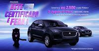 Concorra 2 Jaguar e-Pace com os certificados da Serasa! estecertificadoefera.com.br