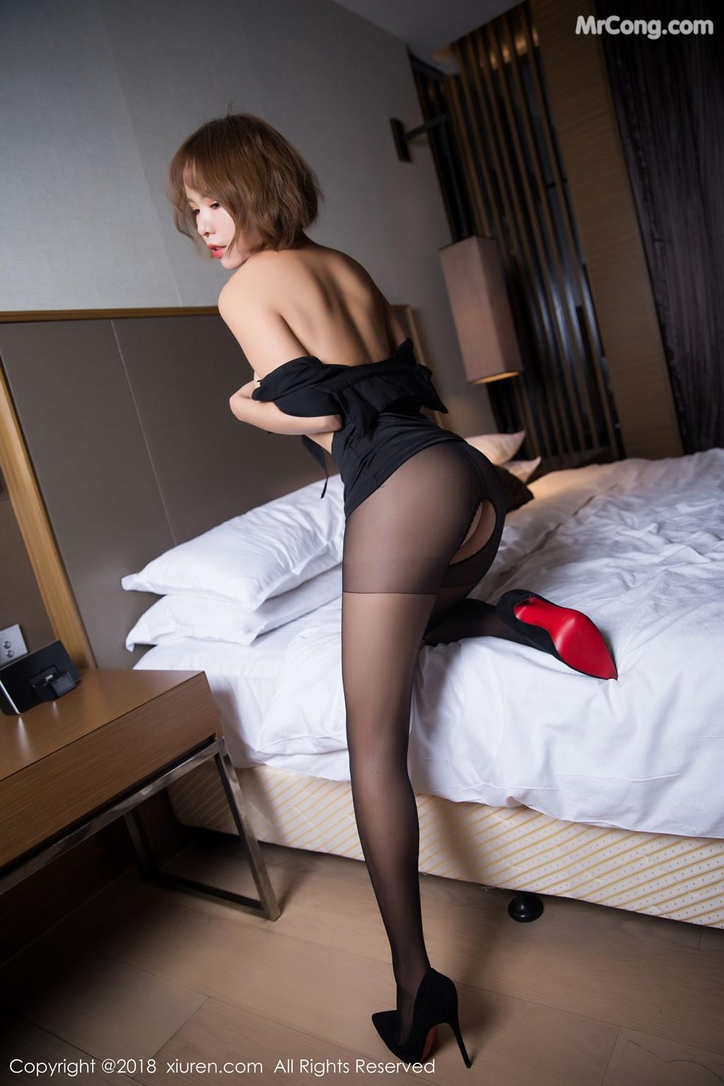 Image XIUREN-No.1264-Ya-Wen-MrCong.com-055 in post XIUREN No.1264: Người mẫu Ya Wen (雅雯) (61 ảnh)
