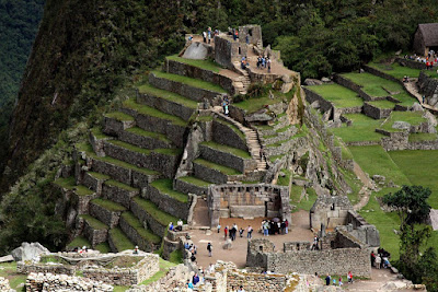Machu Picchu Peru Where Excellent Extinct Cultures and Amazonian Jungles are Seen
