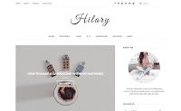 Premium Theme Download Dari Beautytemplates Hilary Blogger Template Gratis