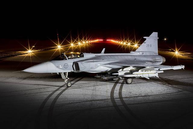 Saab offers Gripen E Finland