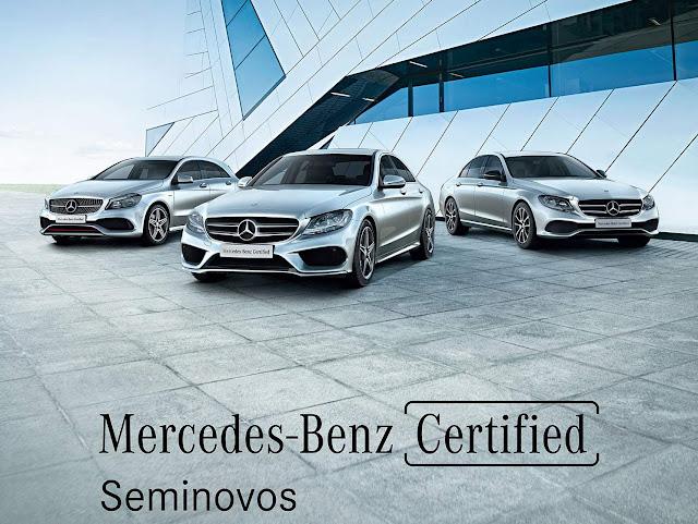 Mercedes lança garantia e financiamento para semi-novos