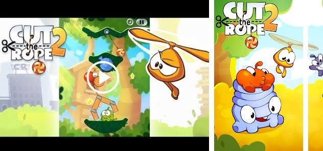 Cut the Rope 2 | Android Games HD | Salman Games