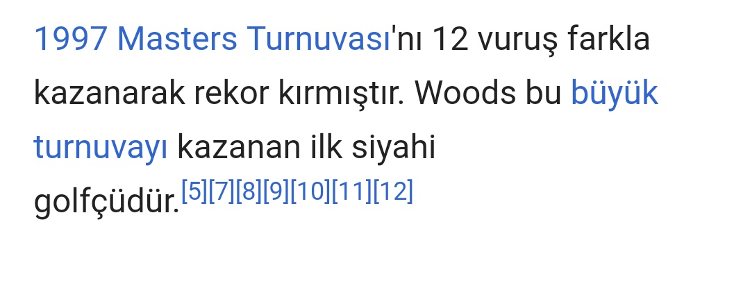 Master turnuvası tiger woods