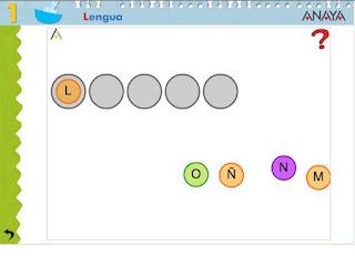 Resultado de imaxes para el abecedario anaya 2º