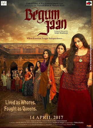 Begum Jaan (2017) Movie Poster