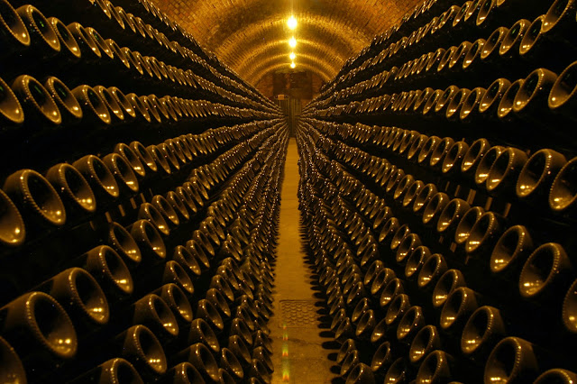 Riddling the Franciacorta at Berlucchi winery