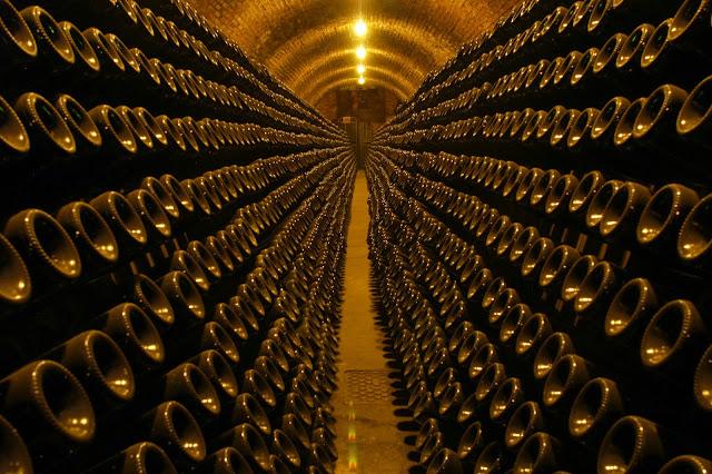 Riddling the Franciacorta at Berlucchi winery