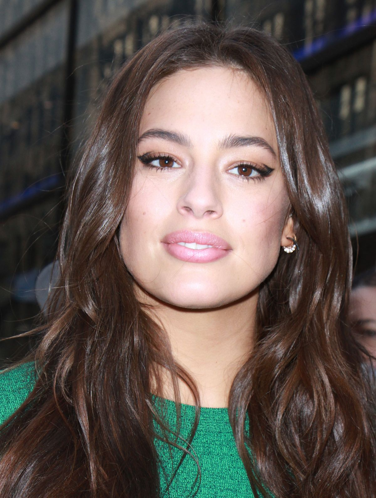 Ashley Graham Arrives At Today Show In New York