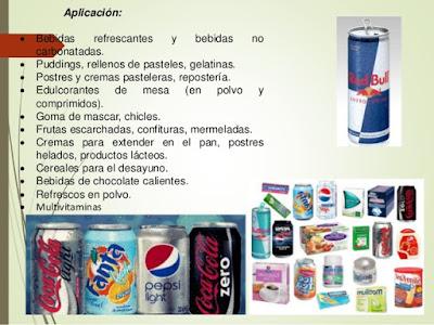 Productos-con-Edulcorantes