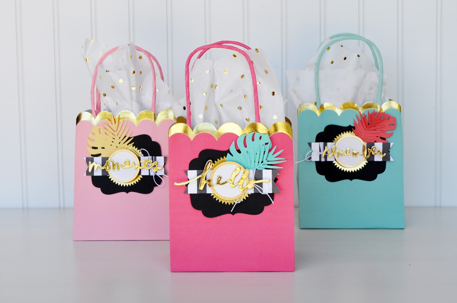 Tropical Gift Bag Set DIY