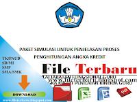 Download File Terbaru Penjelasan Proses Perhitungan Angka Kredit (PAK) Penilaian Kinerja Guru (PKG)