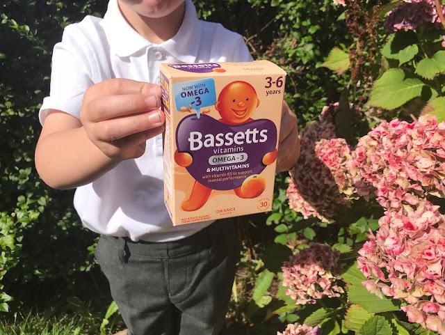 child Bassett vitamin pastles