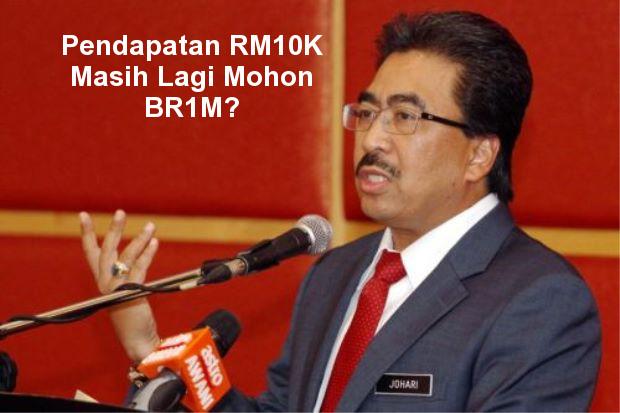 Pendapatan RM 10K Pun Masih Nak Mohon BR1M Lagi?