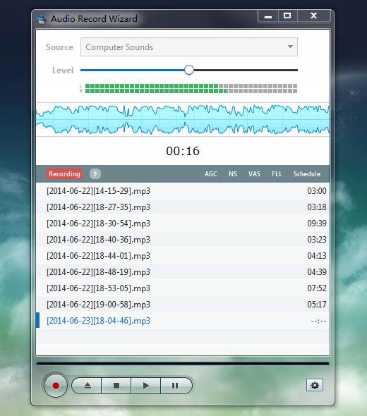 تحميل برنامج تسجيل الصوت للكمبيوتر Audio Record Wizard