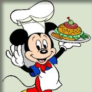 Mickey Chef de Cozinha