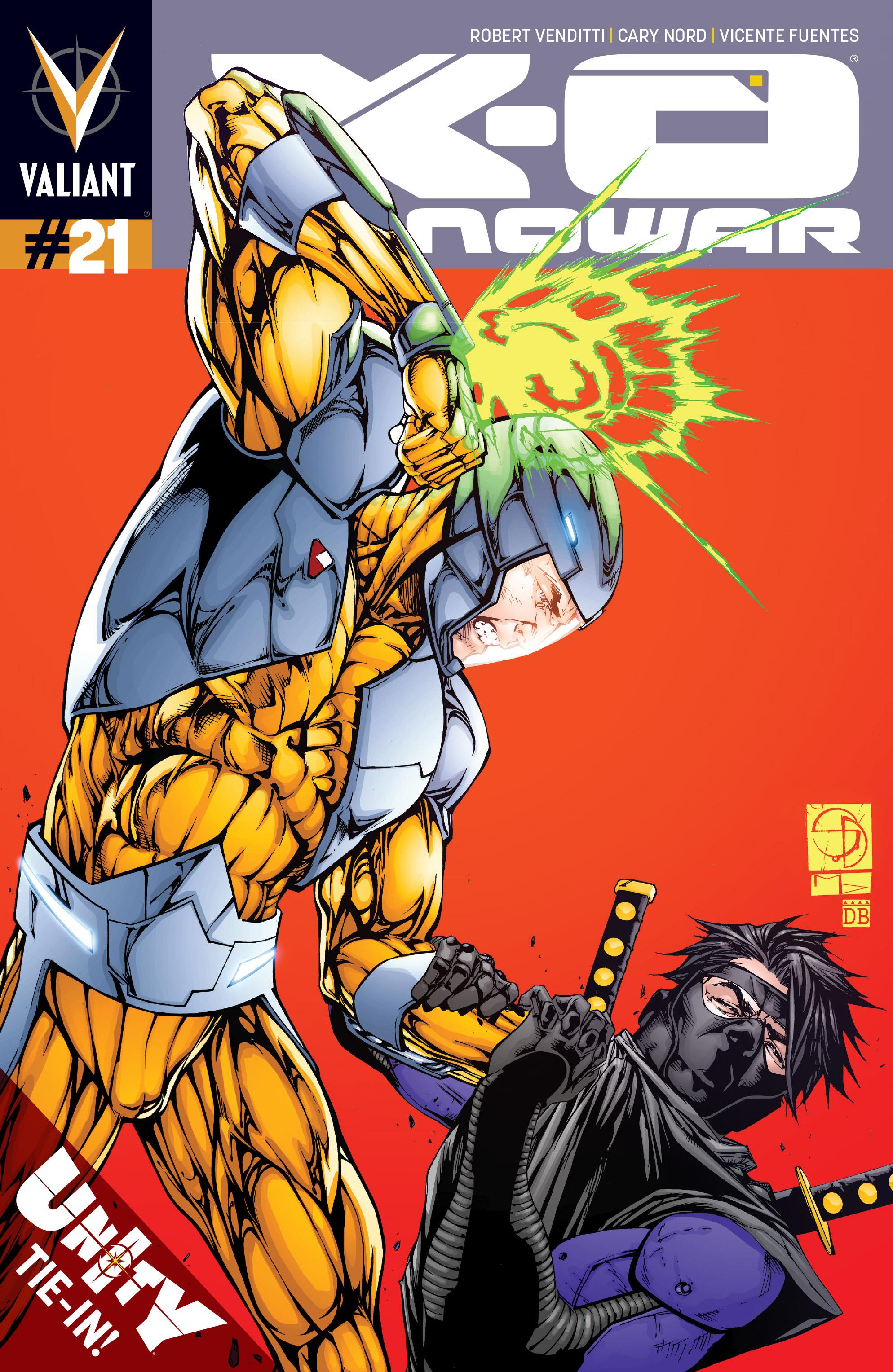 X-O Manowar (2012) 21 Page 1